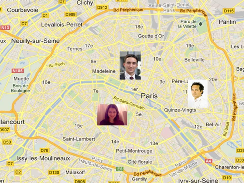 Cartographie d'innovateurs | Prisme à Idées